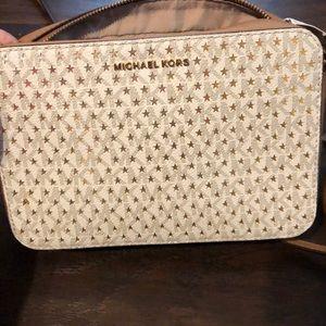 Michael Kors bag with gold stars